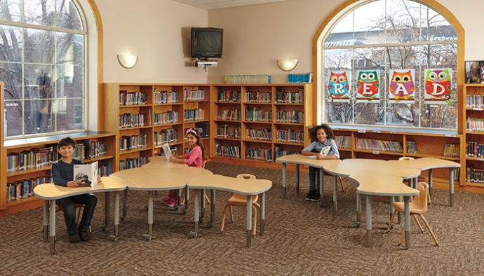 In Traditional Learning Spaces, There Are Either Rows Of Individual Desks  Or Several Larger Tables U2013 But Not Both. The Berries Collaborative Tables  From ...