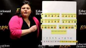 Magnetic Demonstration Number Line