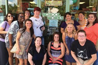 A true destination location, School Works recently hosted a church group on a back-to-school shopping daytrip.