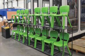 As Green as it Gets – Sustainable Practices Produce Recyclable Chairs